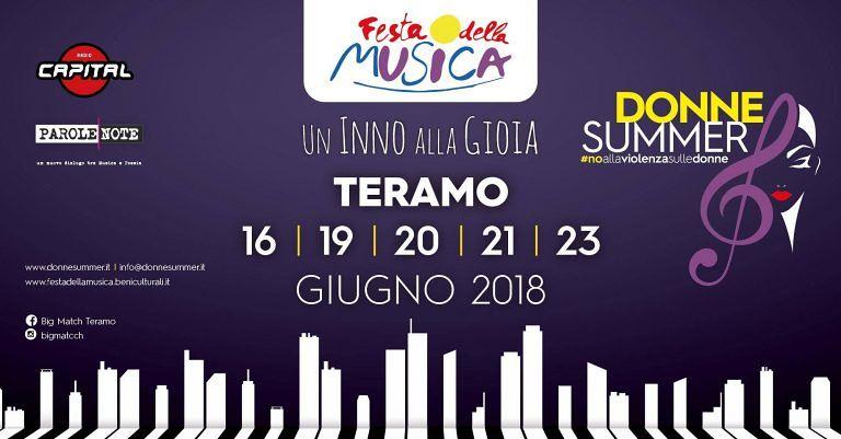 Teramo, Festa della Musica: il programma dell'evento