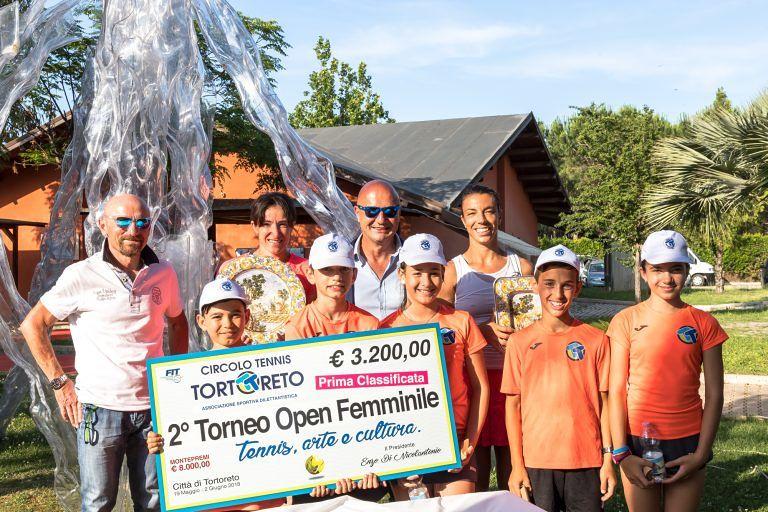 Tennis, Alberta Brianti trionfa all'Open Città di Tortoreto