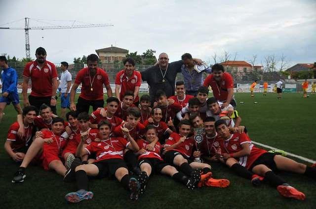 I Giovanissimi dell'Alcyone Calcio vincono la Coppa Abruzzo