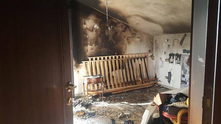 Mosciano, incendio nell'abitazione: forse causata dal malfunzionamento della play-station