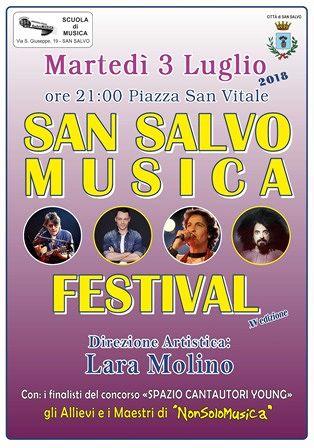 Tutti in piazza per la XV edizione di 'San Salvo Musica Festival'