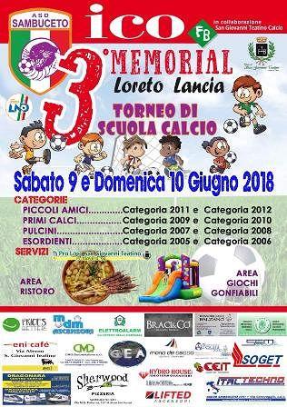 Sambuceto, 3°  Memorial Loreto Lancia