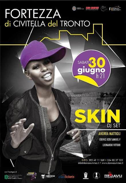 Associazione Culturale Big Match presenta Skin in concerto a Civitella del Tronto