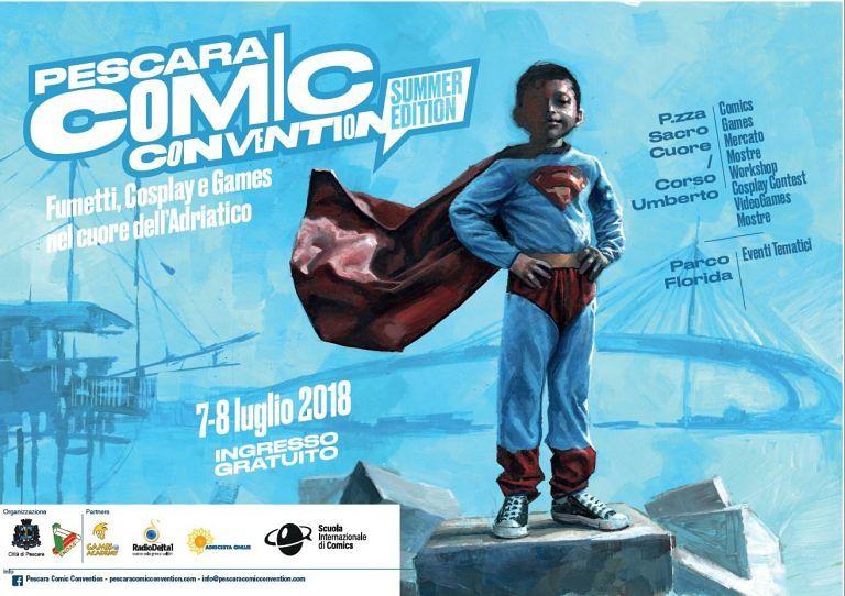 Pescara Comic Convention 2018: torna l'evento per appassionati di fumetti