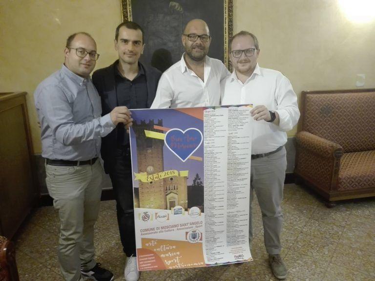 Mosciano, presentato il cartellone degli eventi estivi che abbraccia anche l'autunno PROGRAMMA