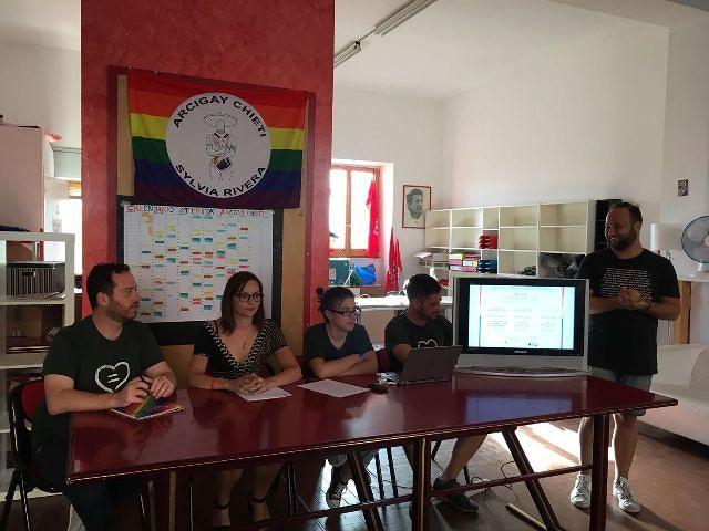 Presentato lo Sportello Accoglienza, Ascolto e Legale di Arcigay Chieti 'Sylvia Rivera'