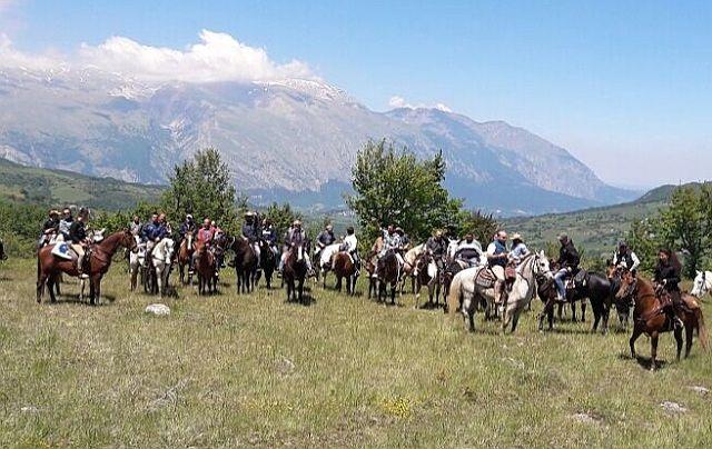 Pizzoferrato, Secondo Raduno Equestre dei Monti Pizzi