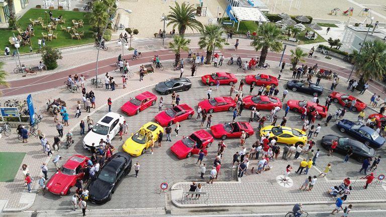 Tutto pronto per il raduno delle Ferrari (memorial Guercioni): partenza da Giulianova