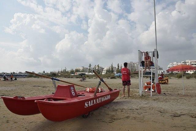 Servizio salvamento del Comune di San Salvo nelle spiagge libere a tutela dei bagnanti