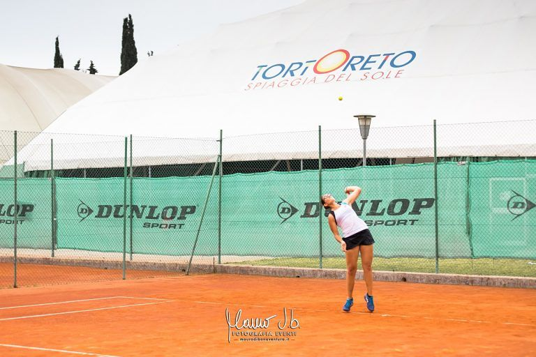 Tortoreto, sabato la finale del torneo open di tennis femminile