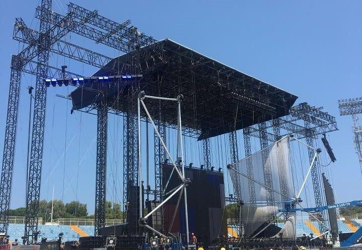 Pescara, domani il concerto dei Negramaro all'Adriatico: DIVIETI E STRADE CHIUSE