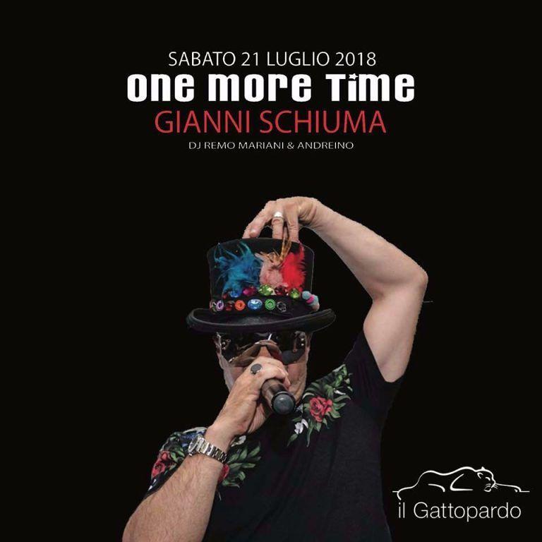 Il Gattopardo: sabato 21 luglio serata con GIANNI SCHIUMA Alba Adriatica