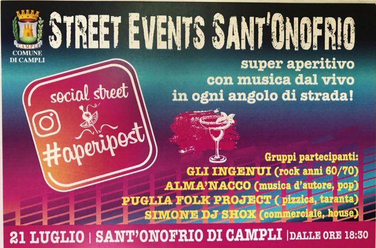 Campli, a Sant'Onofrio torna la quarta edizione dell' Aperipost