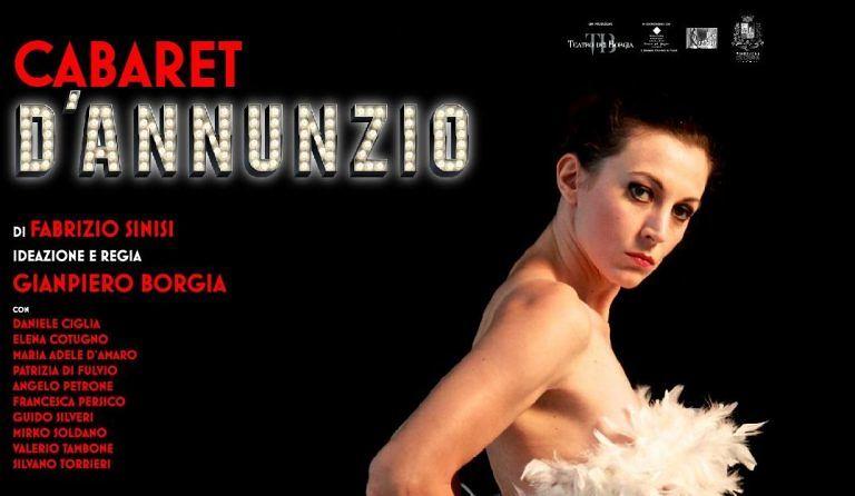 Pescara,'Cabaret D'Annunzio' all'Aurum