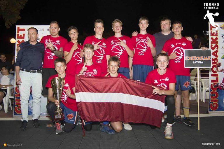 Giugliobasket 2018, i lettoni conquistano il torneo under15