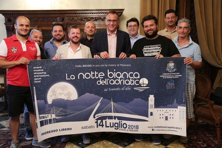 Pescara, Notte Bianca: gli eventi in programma