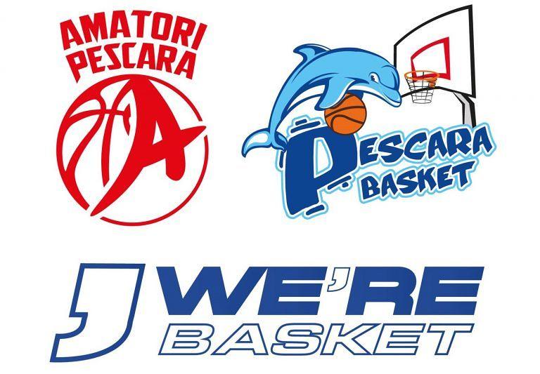 Pescara Basket, Amatori e We're Basket Ortona si fondono