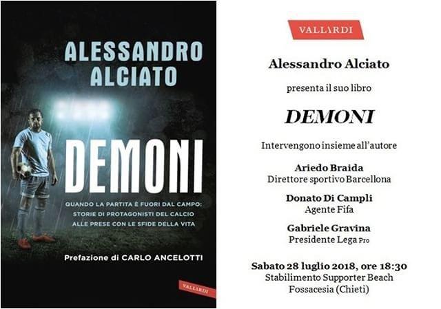 Fossacesia, 'Demoni': presentazione del libro di Alessandro Alciato