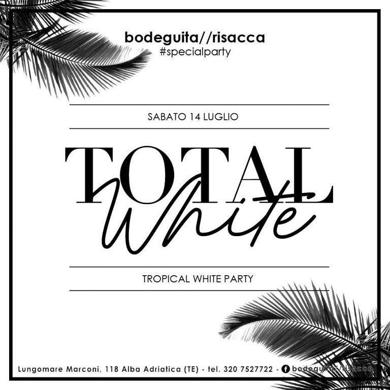 Bodeguita&Risacca: lo sceicco più ricco di Dubai alla Total White Tropical Party | Alba Adriatica