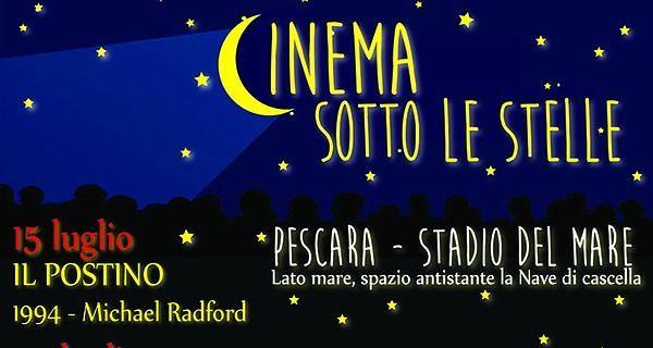 Pescara, film all'aperto per tutta l'estate