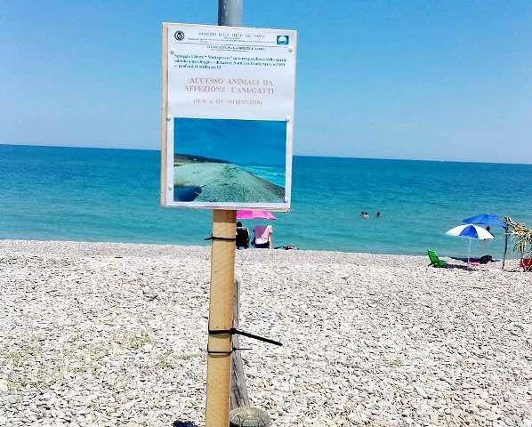 Tre spiagge a Vasto in cui è consentito l'accesso ai cani
