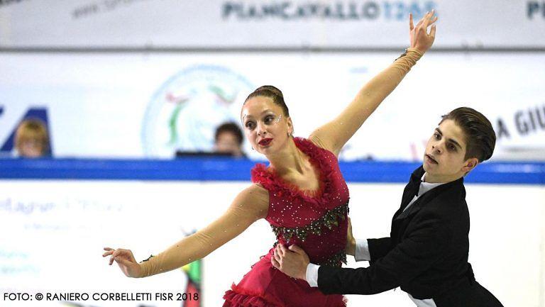 Campionati italiani pattinaggio artistico: oro per l'Aprutino Teramo