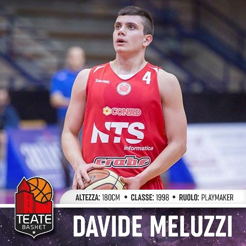 Teate Basket Chieti, arriva Davide Meluzzi