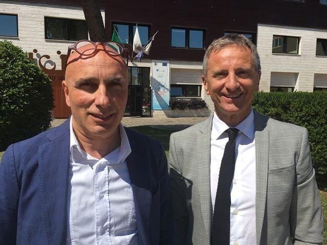 Il sindaco Luciano Marinucci candida l'assessore Ezio Chiacchiaretta alla guida del Comune di San Giovanni Teatino