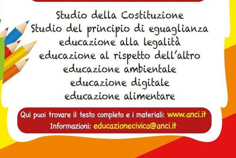 Pianella dice si all'Educazione civica a scuola
