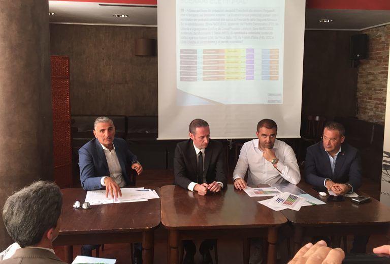 Elezioni Abruzzo, sondaggio CRM: raggruppamento liste civiche al 7,3%