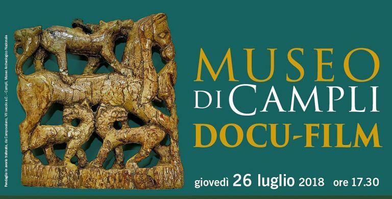 Campli, museo archeologico: la presentazione del docu-film