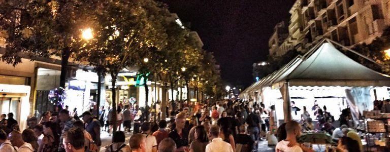 Pescara, in 20mila alla Notte dei saldi