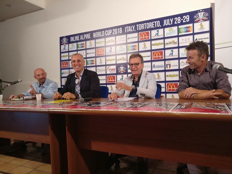 Tortoreto, tutto pronto per la Coppa del Mondo Inline Alpine: il programma VIDEO