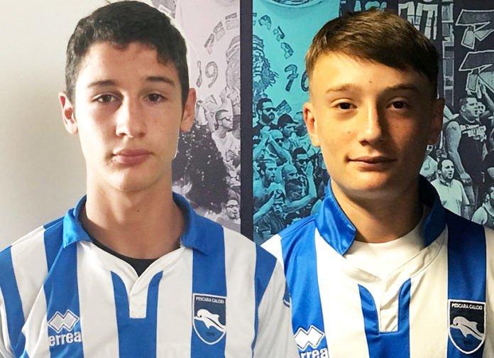 Delfino Pescara: Straccio (Osimana) e Marchegiani dal Pineto nella rosa dei giovanissimi