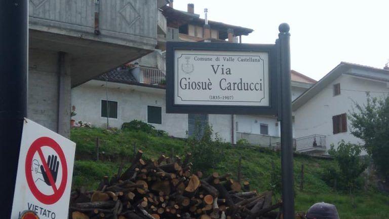 Valle Castellana, in arrivo la nuova segnaletica delle vie e numeri civici