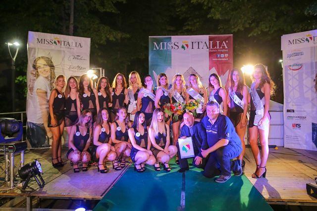 Nella selezione di Miss Italia nel comune di Orsogna vince Grazia Di Cocco