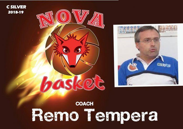 Basket, Nova Campli conferma il coach Remo Tempera
