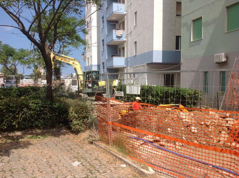 Montesilvano, lavori anti-allagamento: il cantiere in via Piemonte riprende a settembre