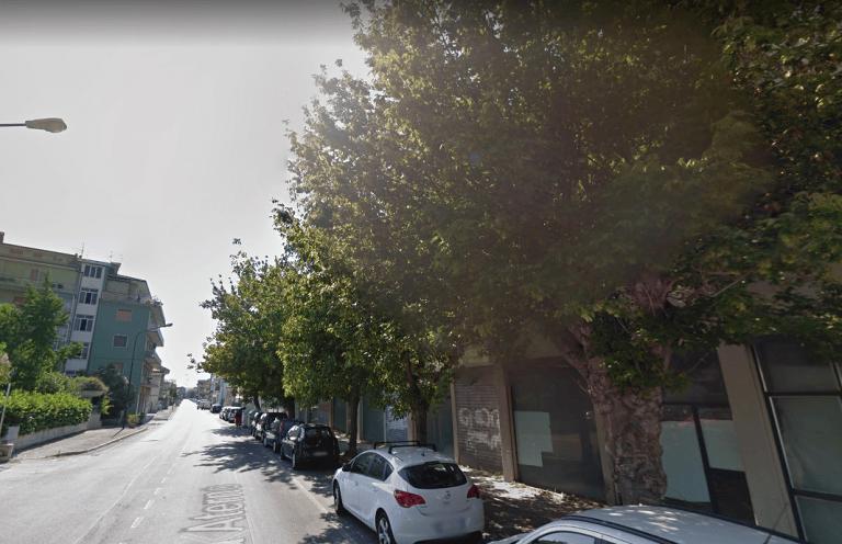 Pescara, lavori in via Aterno: via gli aceri sul marciapiede