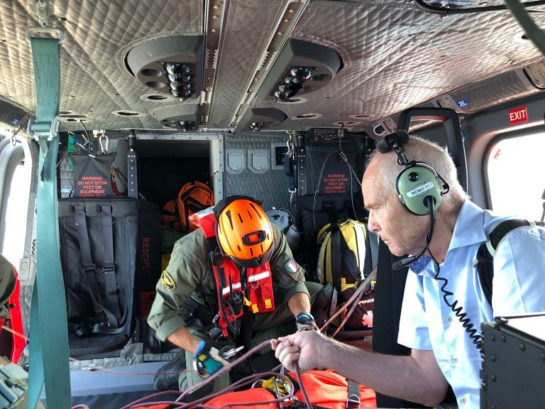 Malore in crociera, soccorso in elicottero al largo della costa teramana FOTO