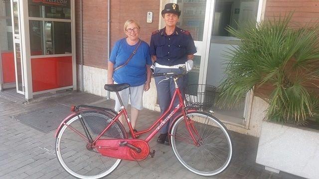 Giulianova, biciclette rubate sulla costa: la Polfer ne recupera 15