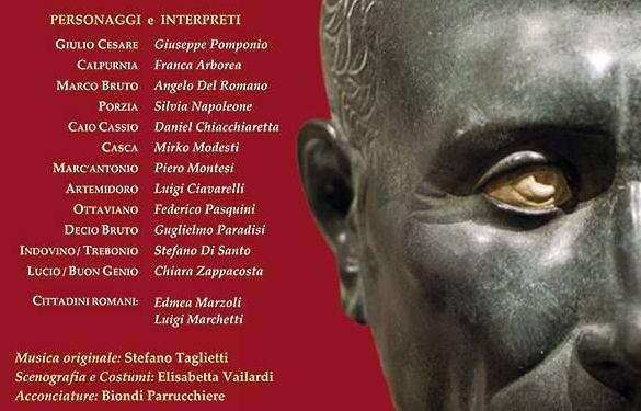 Pescara, la Torre del bardo presenta 'Giulio Cesare'
