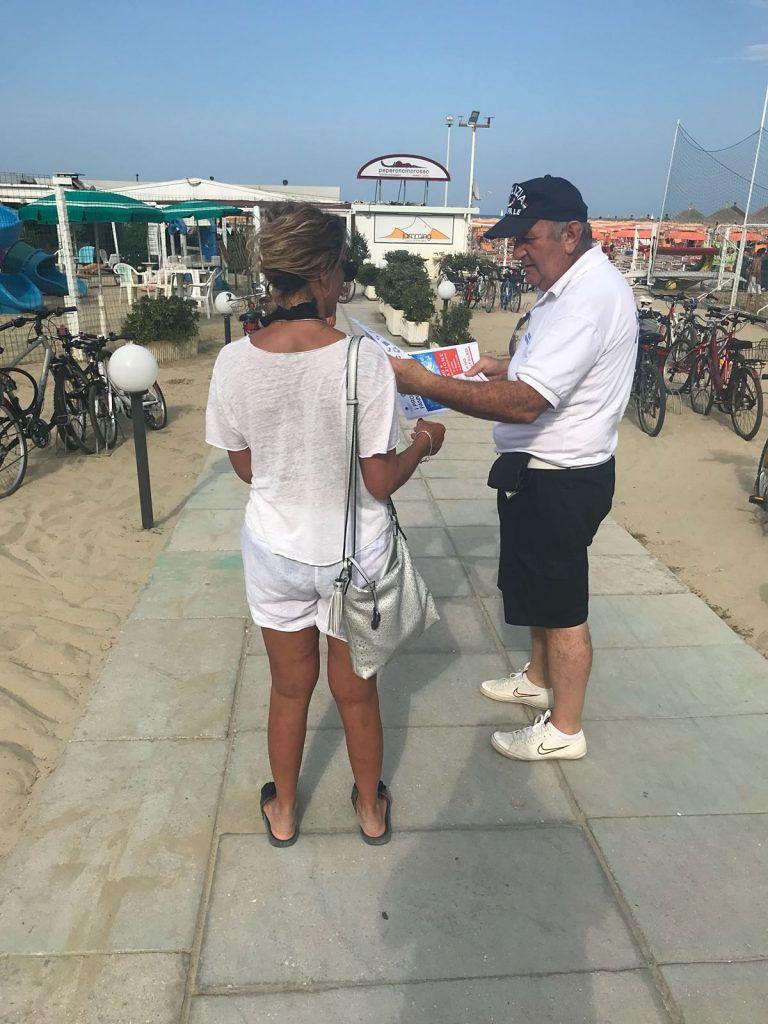 Giulianova, Spiagge Sicure 2018: avviata campagna d'informazione contro l'abusivismo commerciale