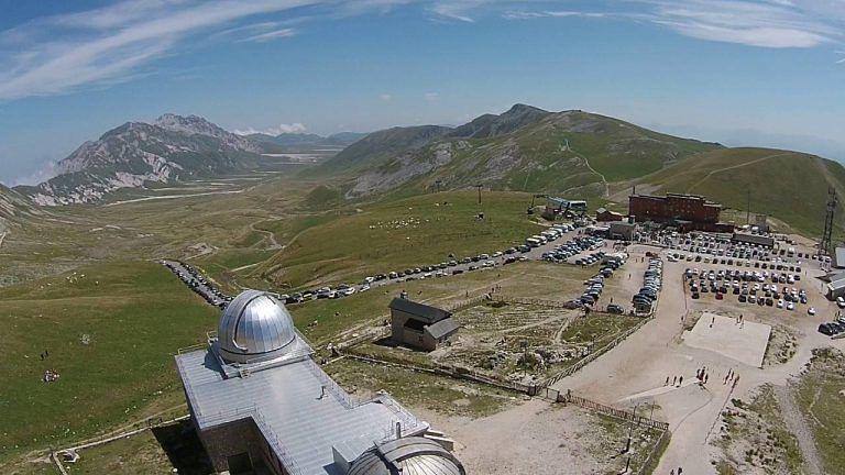 Open Day all'Osservatorio del Gran Sasso a Campo Imperatore