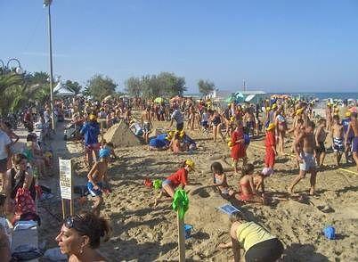 Tortoreto, gara dei castelli di sabbia: tutto pronto per l'appuntamento numero 26