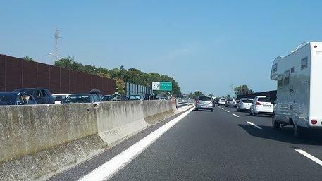 Galleria chiusa sulla A14, ancora code e rallentamenti tra Abruzzo e Marche