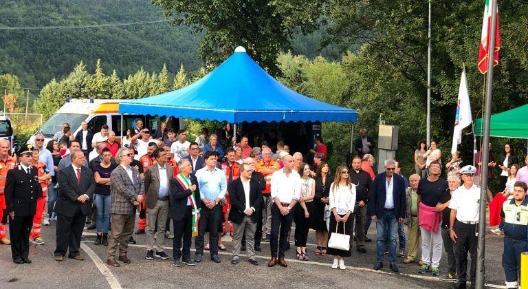 """Crognaleto, inaugurata a Nerito la """"casa"""" della Croce Bianca FOTO"""