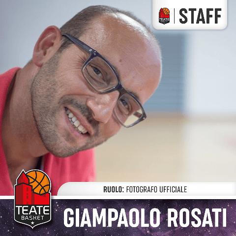 Teate Basket Chieti, Giampaolo Rosati confermato fotografo ufficiale
