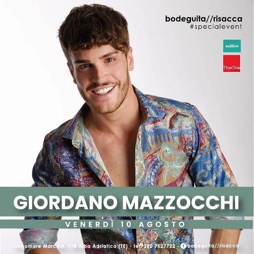 Bodeguita&Risacca: venerdì 10 agosto ospite GIORDANO MAZZOCCHI  Alba Adriatica