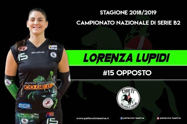 La Coged riparte dal suo opposto: Lorenza Lupidi